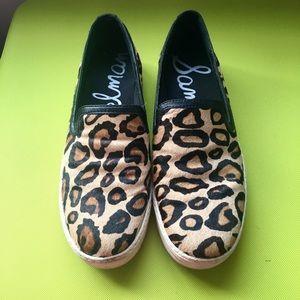 Sam Edelman Leopard Pattern Shoes